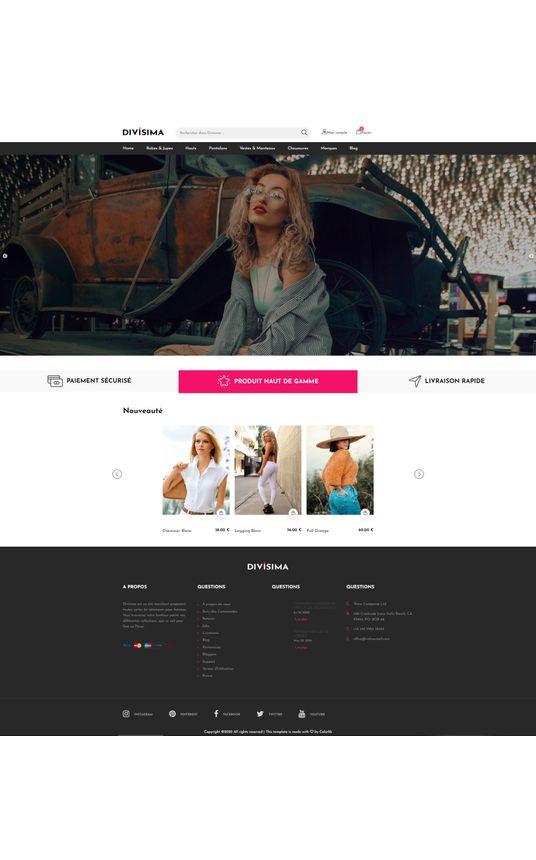 AquilaCMS - Shop | Theme Divisima